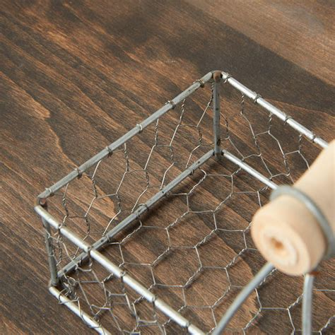 galvanized chicken wire basket decorative containers