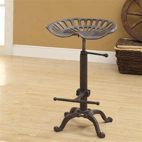 smith and wesson bar stool carolina cottage tractor seat adjustable height industrial