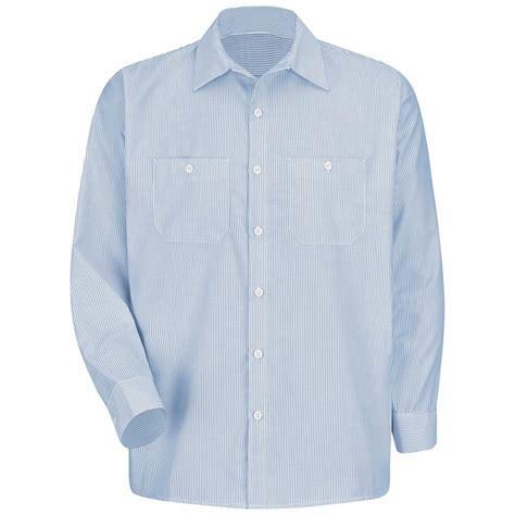 mock two striped shirt sl10 sleeve industrial stripe shirt