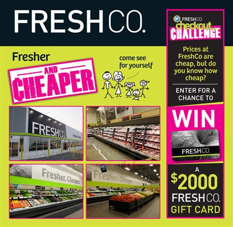 checkout challenge freshco checkout challenge contest
