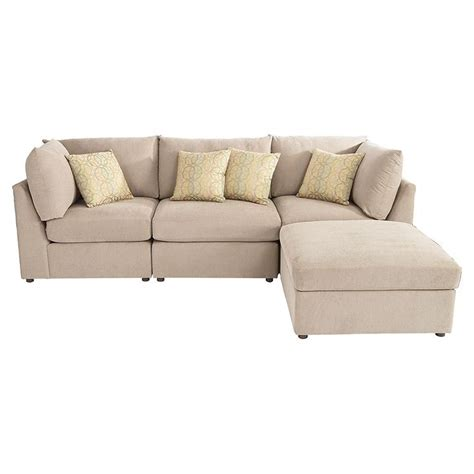upholstered l shaped sectional river ridge furniture