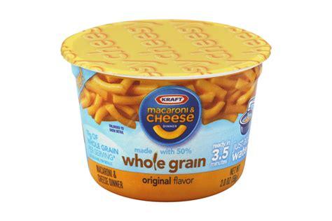 whole grain kraft mac and cheese kraft whole grain original flavor macaroni cheese dinner