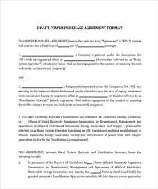 solar power purchase agreement template sle power purchase agreement 7 documents in pdf