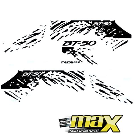 Decal Aufkleber by Mazda Bt 50 Sticker Kit Rap009