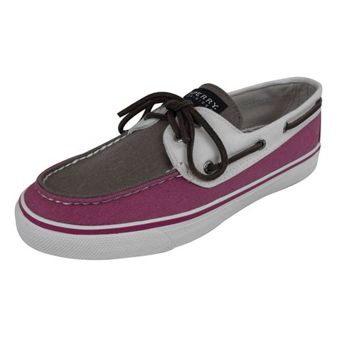 sperry top sider bahama womens boat shoe loafer deck shoes