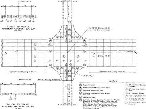 joint layout plan rigid pavement joint sealing library builder