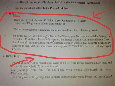 Wochenbericht Praktikum Vorlage Grundschule Zeitraum Mindestens Einwchig Mglichst 14 Tgig Jahrgangsstufe 11 Bei G8 4 Seiten Tagesbericht