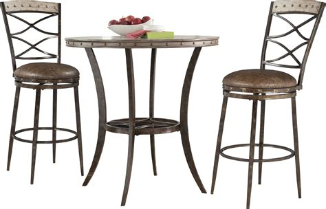 Emmons 3 PIECE Bar Height Bistro Dining Set   HedgeApple