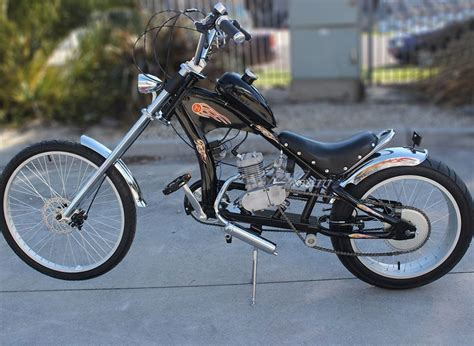 80cc Motor by Motoworks 80cc Motorised Motorized Bicycle Push Bike