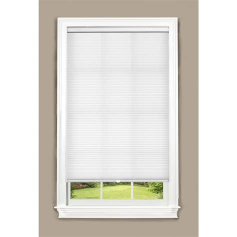 20 inch l shade shop allen roth 20 in w x 48 in l white cordless light