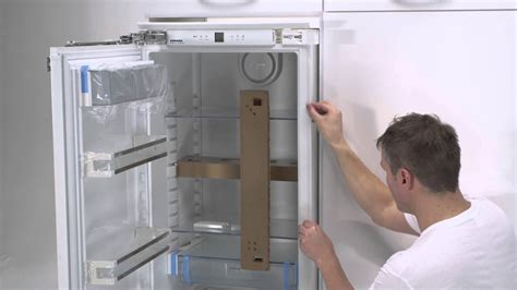 Meuble D Angle De Cuisine 3520 by Built In Liebherr Fixed Door Installation