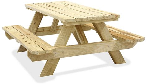 wood picnic tables wooden picnic tables  stock ulineca