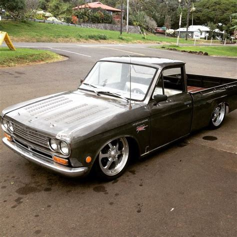slammed datsun truck 276 best datsun truck images on pinterest mini trucks