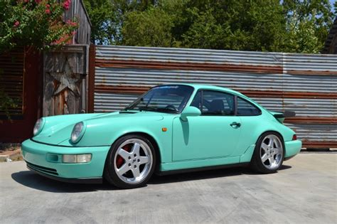 porsche mint green 1989 mint green porsche 911 ruf rct evo cars for