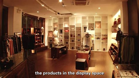 arredo shop led lighting design project for clothing shop with led