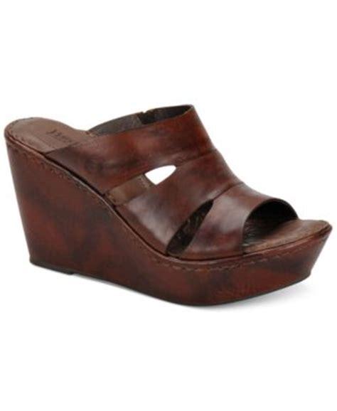 born emmy platform wedge sandals shoes macy s