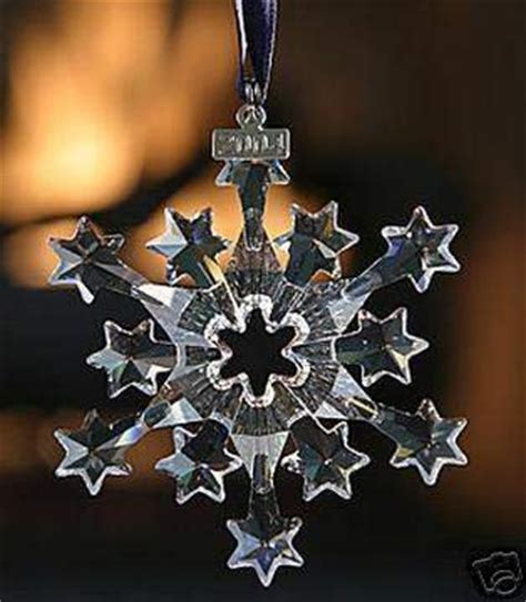 swarovski 2004 annual christmas snowflake ornament best