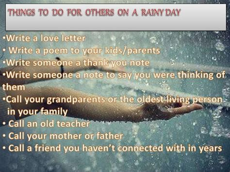 things to do in s day what things to do on a rainy day