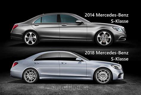 k 252 chenbild vergleich 2018 vergleich 2014 vs 2018 mercedes s klasse autofilou