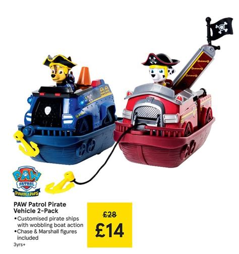 paw patrol boat how to get wheels out tesco s huge half price toy sale starts today with savings