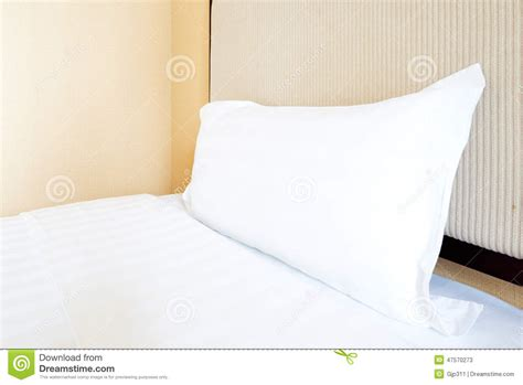 comfortable bed pillows white pillows on a bed comfortable stock photo image
