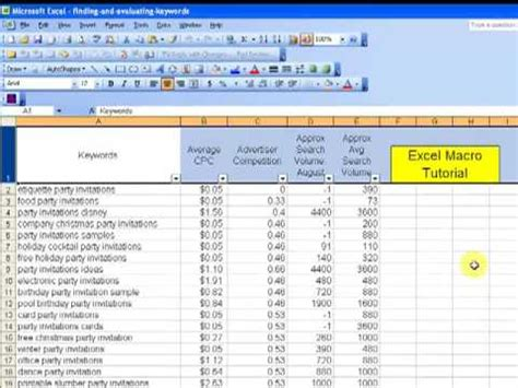 video tutorial excel excel macros tutorial record and save macro in excel