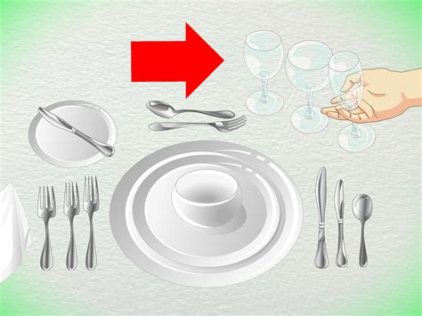 fancy place setting 4 ways to set formal silverware wikihow