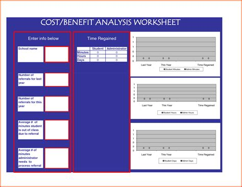 doc 16601285 6 cost benefit analysis excel bizdoska com