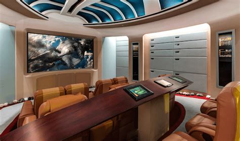 Trek Living Room by 35 Million Dollar Trek Themed Mansion For Sale