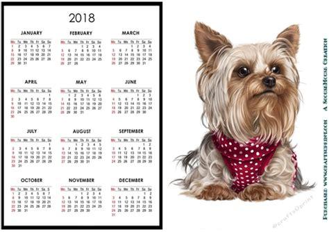 yorkie 2018 calendar books 2018 calendar yorkie cup784622 4063 craftsuprint