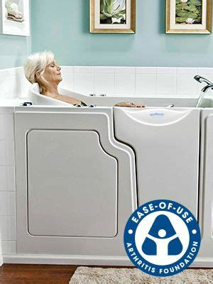 safe step bathtubs safe step walk in tub co ease of use bed bath pinterest