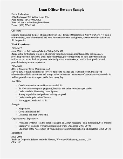 Mortgage Processor Cover Letter by Exle Of Resume Summary For Loan Processor Resume Template Cover Letter