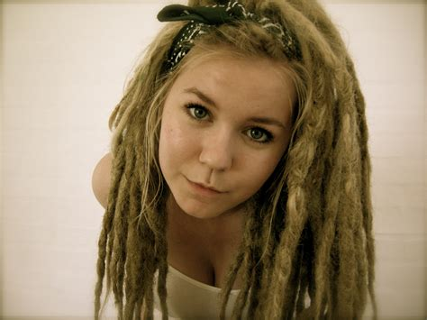 dread lock dreadlocks silver white winters