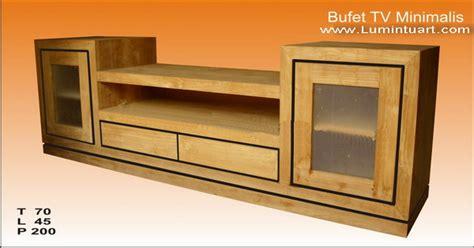 Bufet Tv Minimalis Meja Tv Minimalis Jati Bufet Tv Kombinasi Duco bufet tv minimalis kayu jati jepara 2 laci mebel jati jepara ud lumintu gallery furniture
