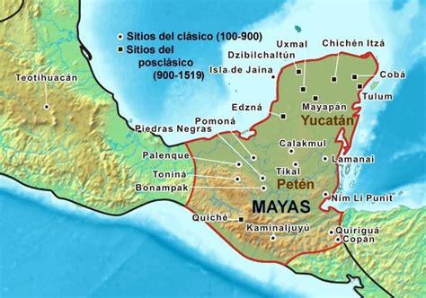 imagenes de los mayas ubicacion civilizaci 243 n maya ubicaci 243 n geogr 225 fica