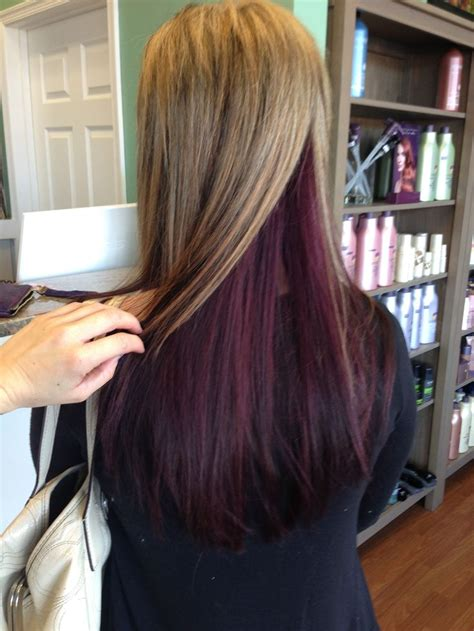 hairstyles different color underneath 169 best hair color images on pinterest hair color