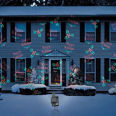 outdoor holiday projector contemporary outdoor holiday