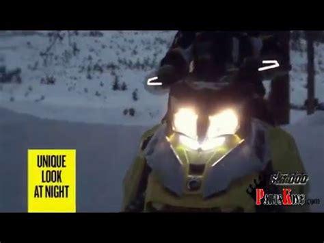 ski doo led light bar ski doo signature led light for handlebar air deflectors