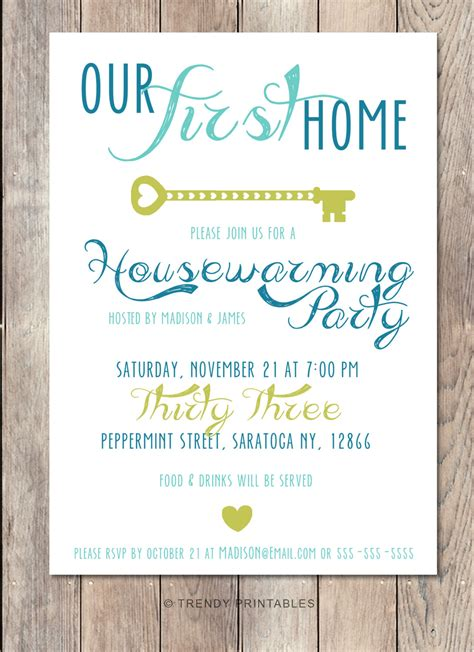 housewarming party invitation housewarming invitation