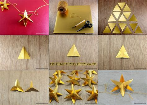 Paper Craft Ornaments - diy paper ornament diy craft projects