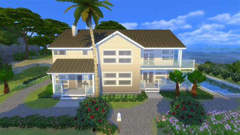 Sims 4 Veranda by Sims 4 Huis Villa Horizonte Sims 4