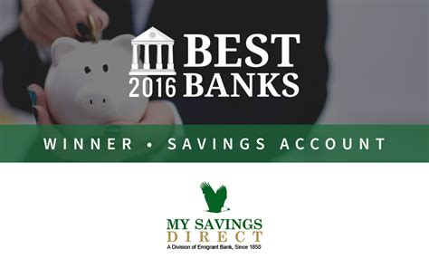 best bank mysavingsdirect offers best savings account of 2016
