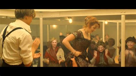 film titanic video clips titanic 3d movie clip third class dance youtube