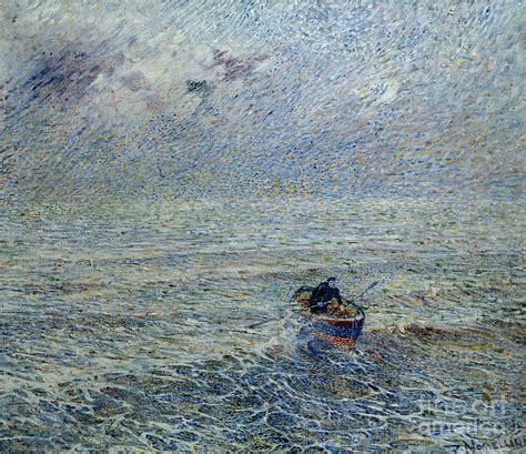 genoa sea sea of genoa painting by plinio nomellini