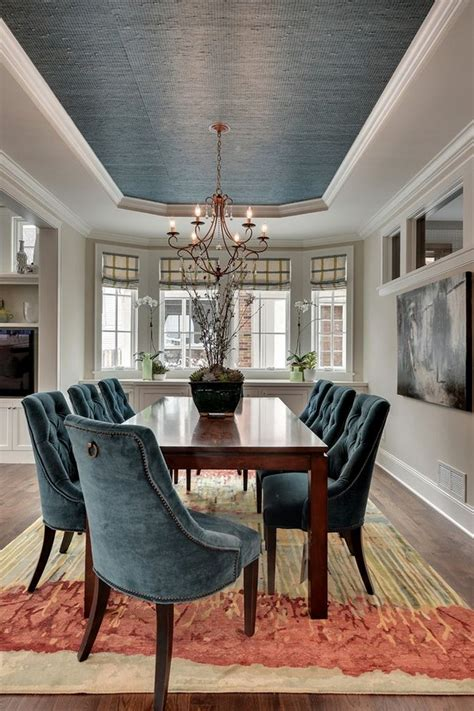 dining room ceilings eye catching rectangle area rugs for dining room under