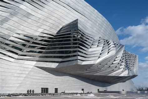 Architectural L by Dalian International Conference Center Coop Himmelb L Au