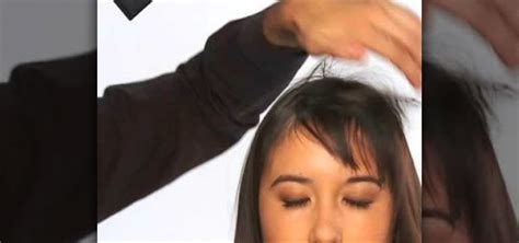 how to style bangs if too short how to style your short front bangs three different ways