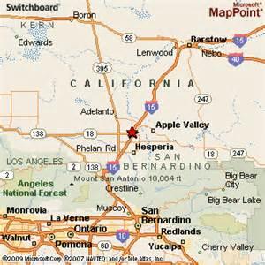 map of victorville california victorville california