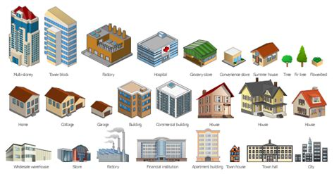 warehouse layout in visio computers and network isometric vector stencils library