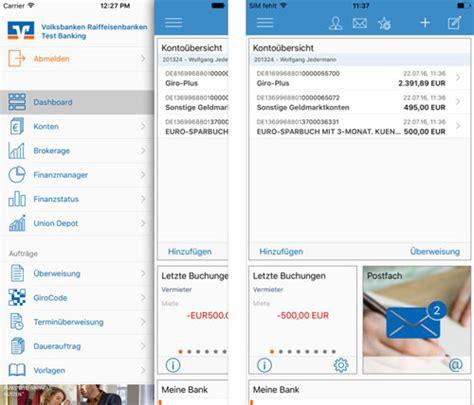 app vr bank vr banking app erm 246 glicht direkten geldversand iphone